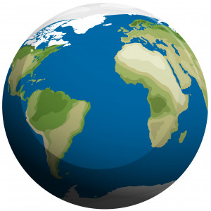وکتور کره زمین